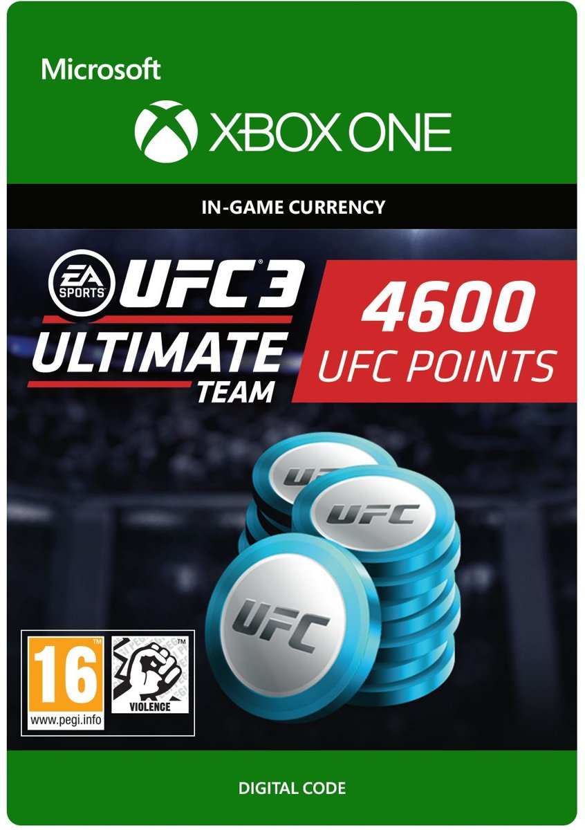 UFC 3 - 4.600 UFC Points - Xbox One
