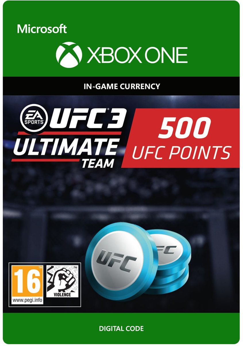 UFC 3 - 500 UFC Points - Xbox One