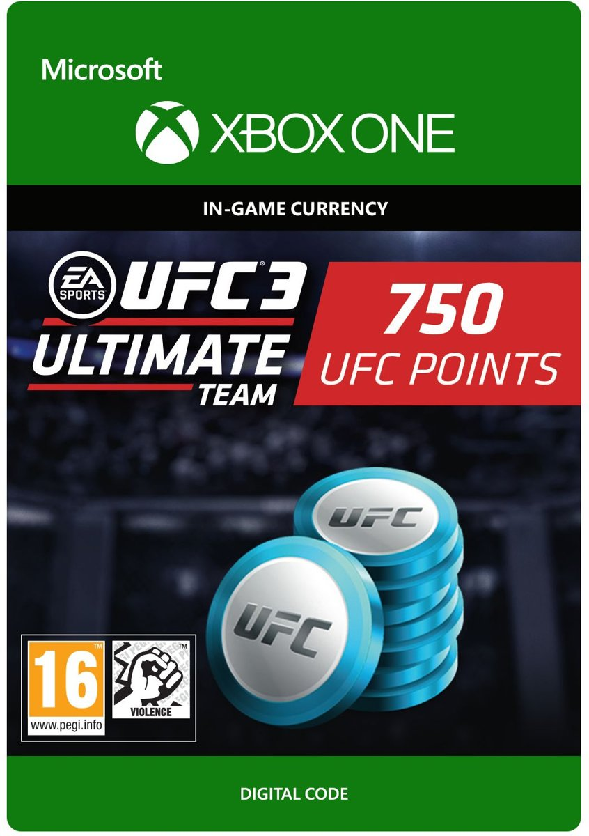UFC 3 - 750 UFC Points - Xbox One