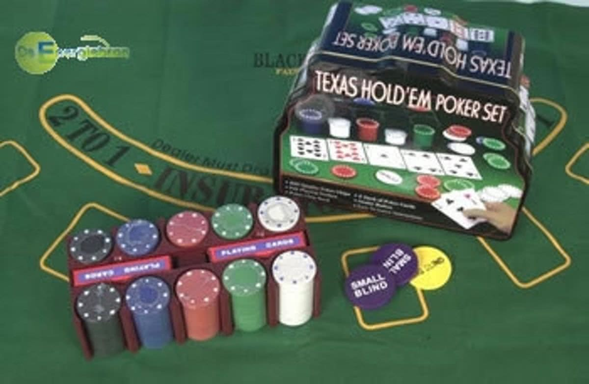 Casino Pokergame Set