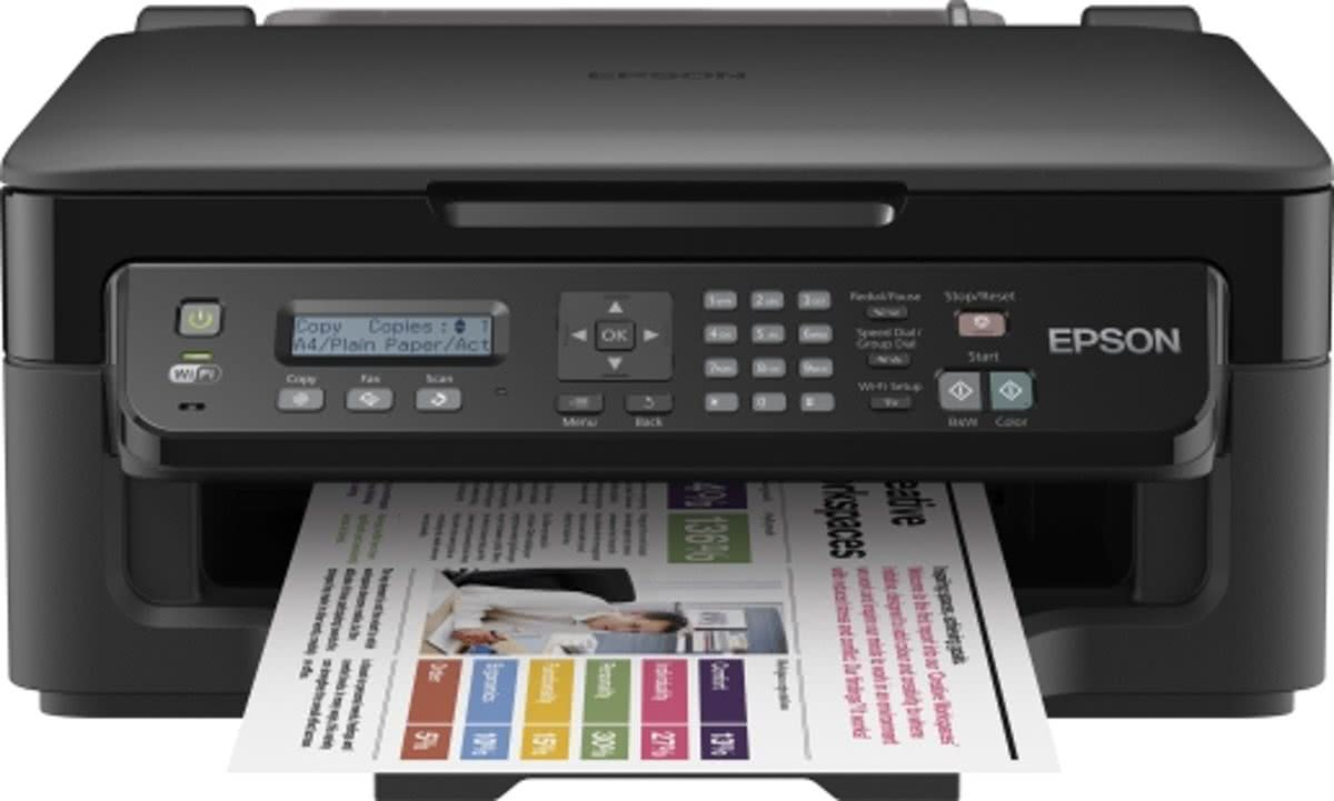 WorkForce WF-2510 - All-in-One