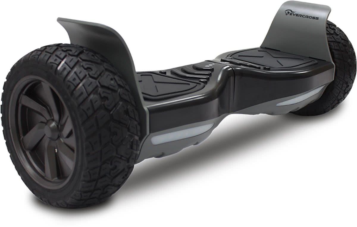 EVERCROSS CHALLENGER BASIC HOVERBOARD, GYROPODE OFF-ROAD, ALLE LAND HOVERBOARD 8.5 INCHES ZWART-GROENE ARMED SAMSUNG BATTERY