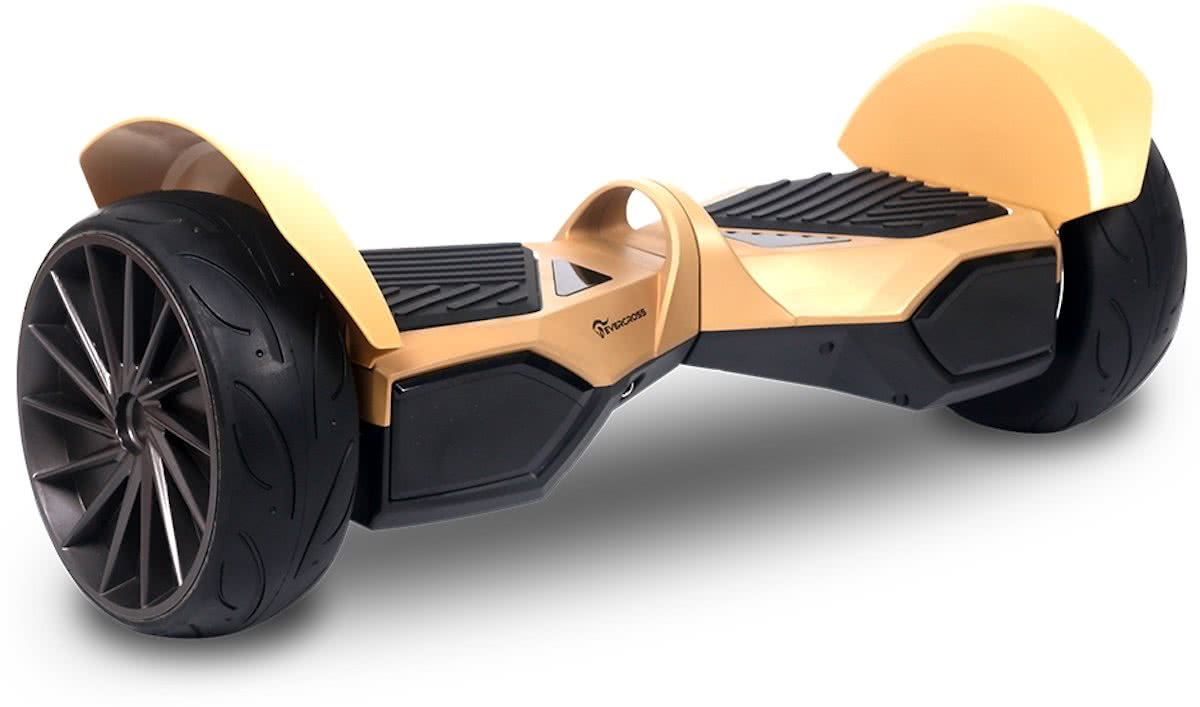 EVERCROSS MONSTER HOVERBOARD, GYROPODE HUMMER ALLE TERREINEN 8.5 INCHES goud