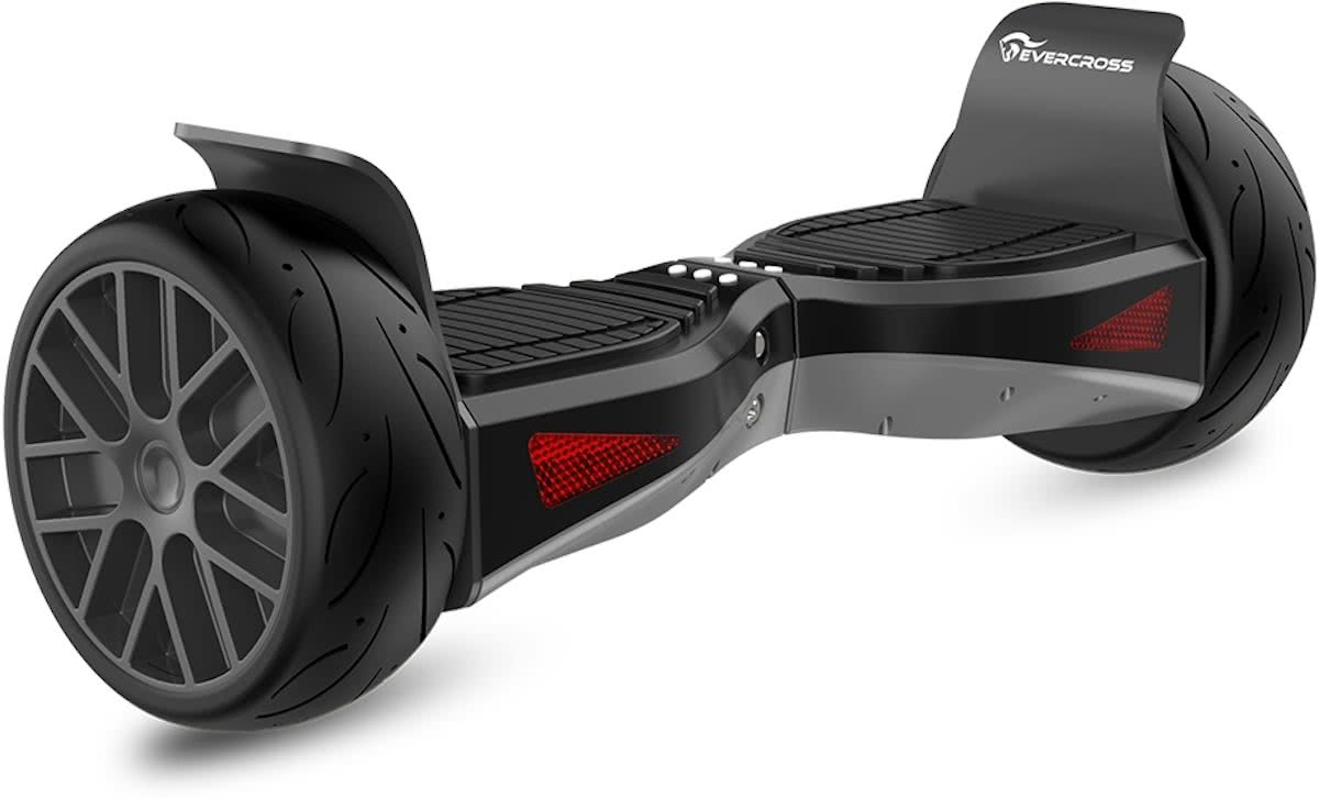 EVERCROSS SHADOW HOVERBOARD HUMMER GYROPODE ALL TERRAIN 8,5 INCH BLACK BLUETOOTH APPLICATION
