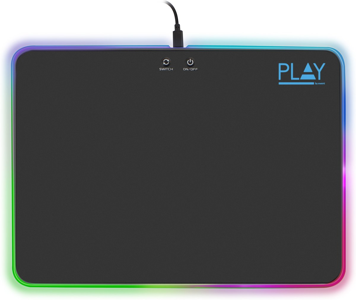 Play Gaming RGB Mouse Pad PL3341