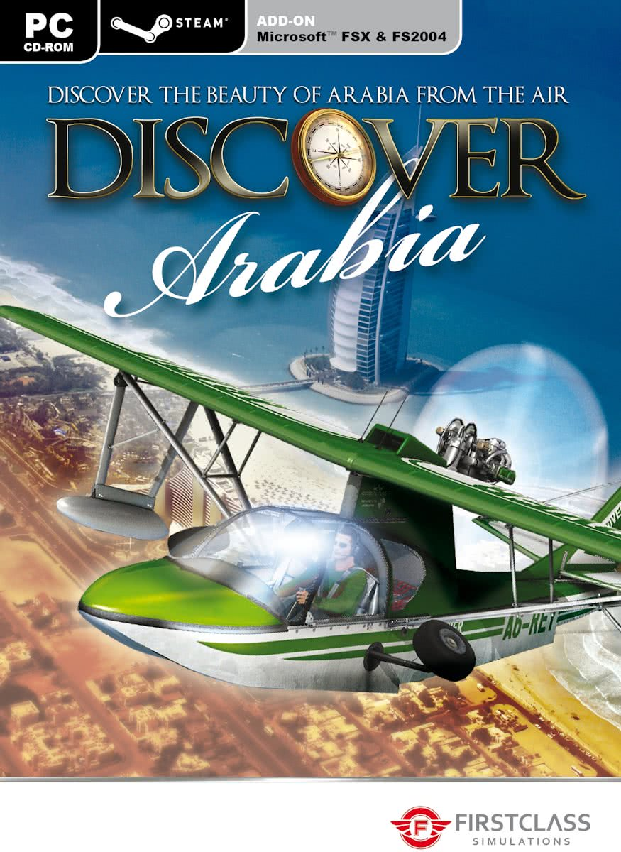 Discover Arabia - FS X + FS 2004 Add-On - Steam Edition - Windows