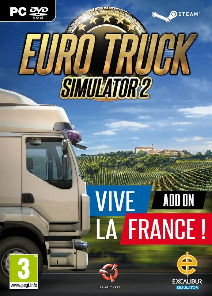Euro Truck Simulator 2 - Vive La France - Add-on - Windows / MAC