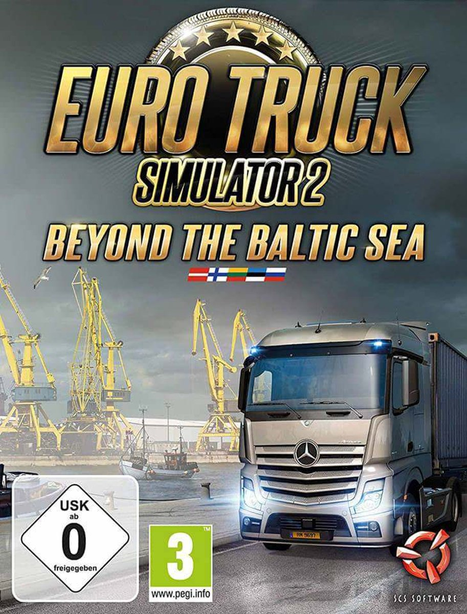 Euro Truck Simulator 2: Beyond the Baltic Sea - Add-On - Windows