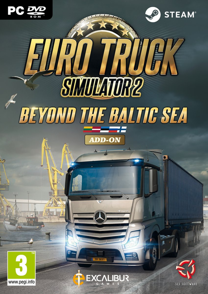 Euro Truck Simulator 2: Beyond the Baltic Sea - Add-On - Windows Download