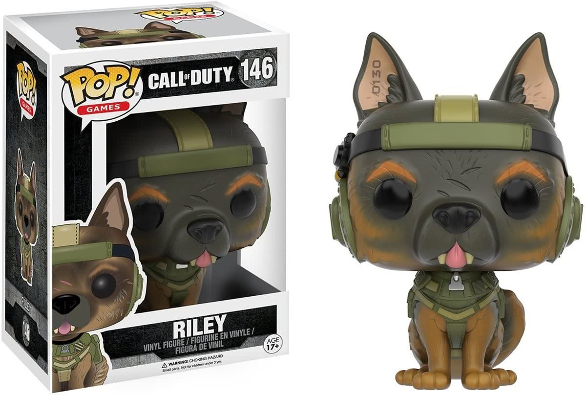 FUNKO POP! Games: Call of Duty - Riley Volwassenen Verzamelfiguur