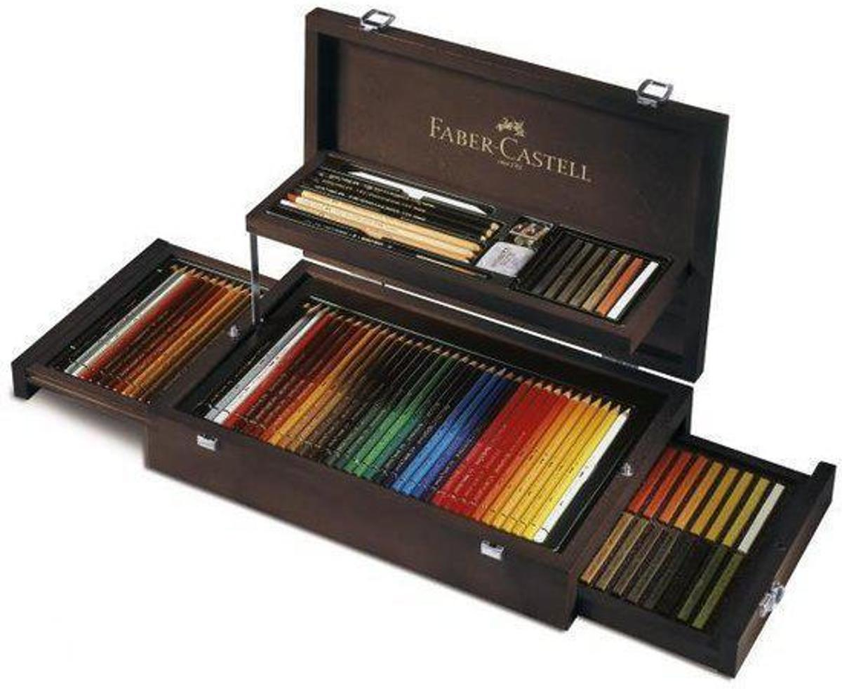 Faber Castell potlood Art & Graphic Collection Luxe koffer