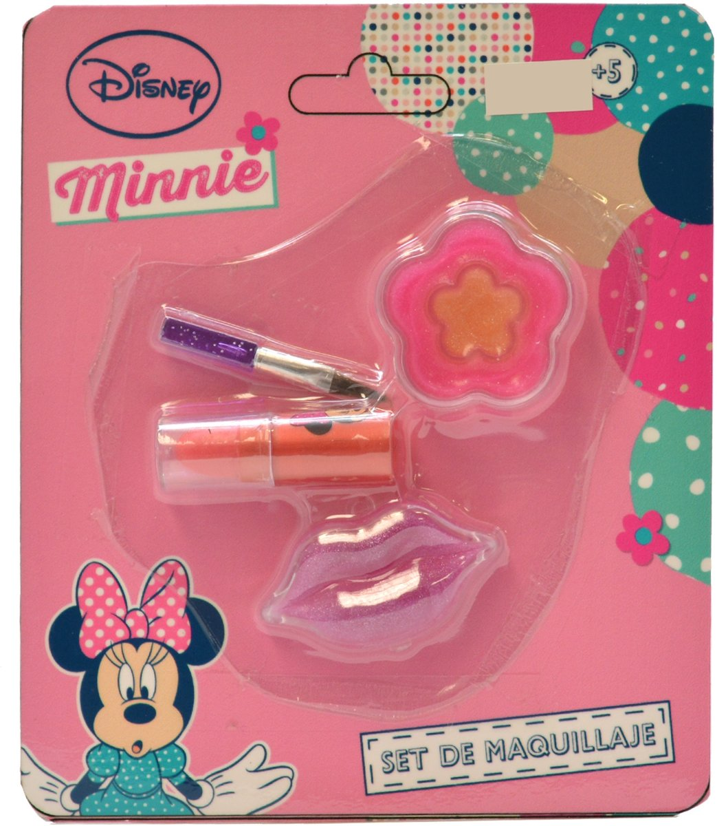 Lippenstiftset Minnie Mouse 4-delig