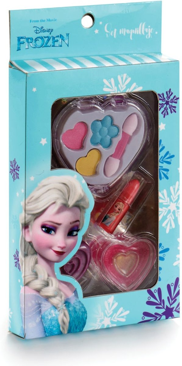 Falca Make-up Frozen 4-delig Hart