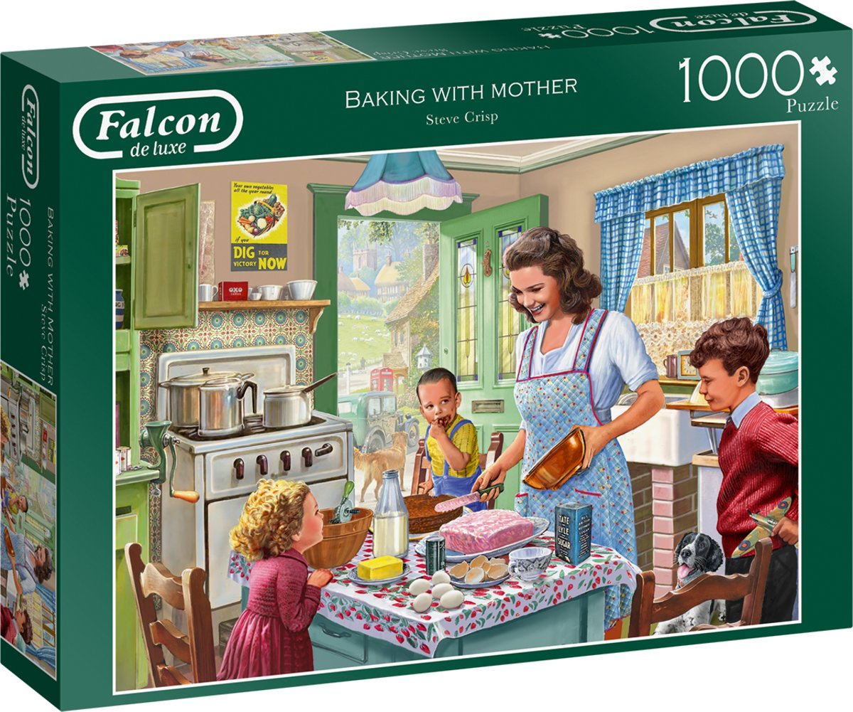 Falcon Baking with Mother 1000 pcs