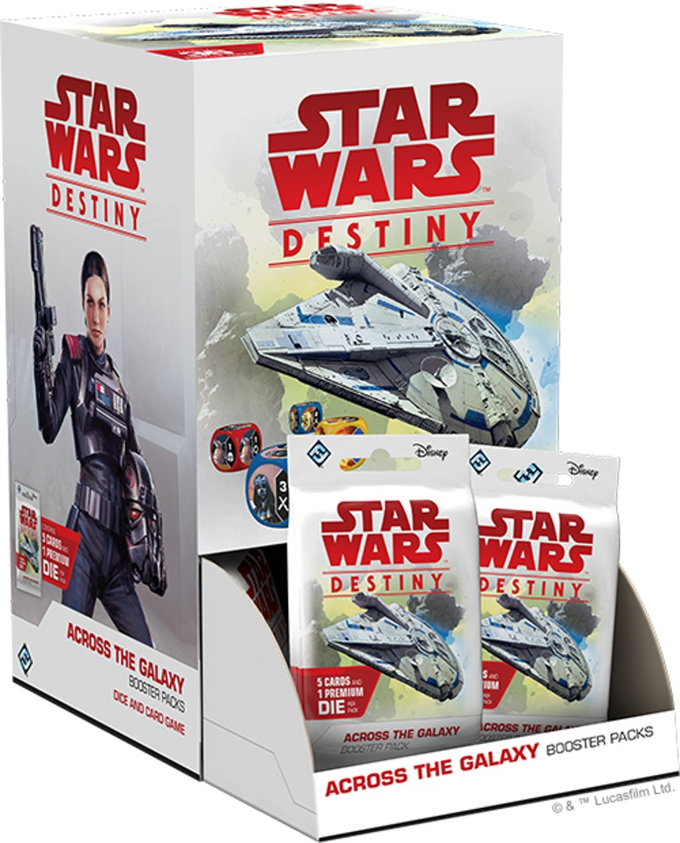 2 Booster Pakjes Star Wars Destiny: Across the Galaxy