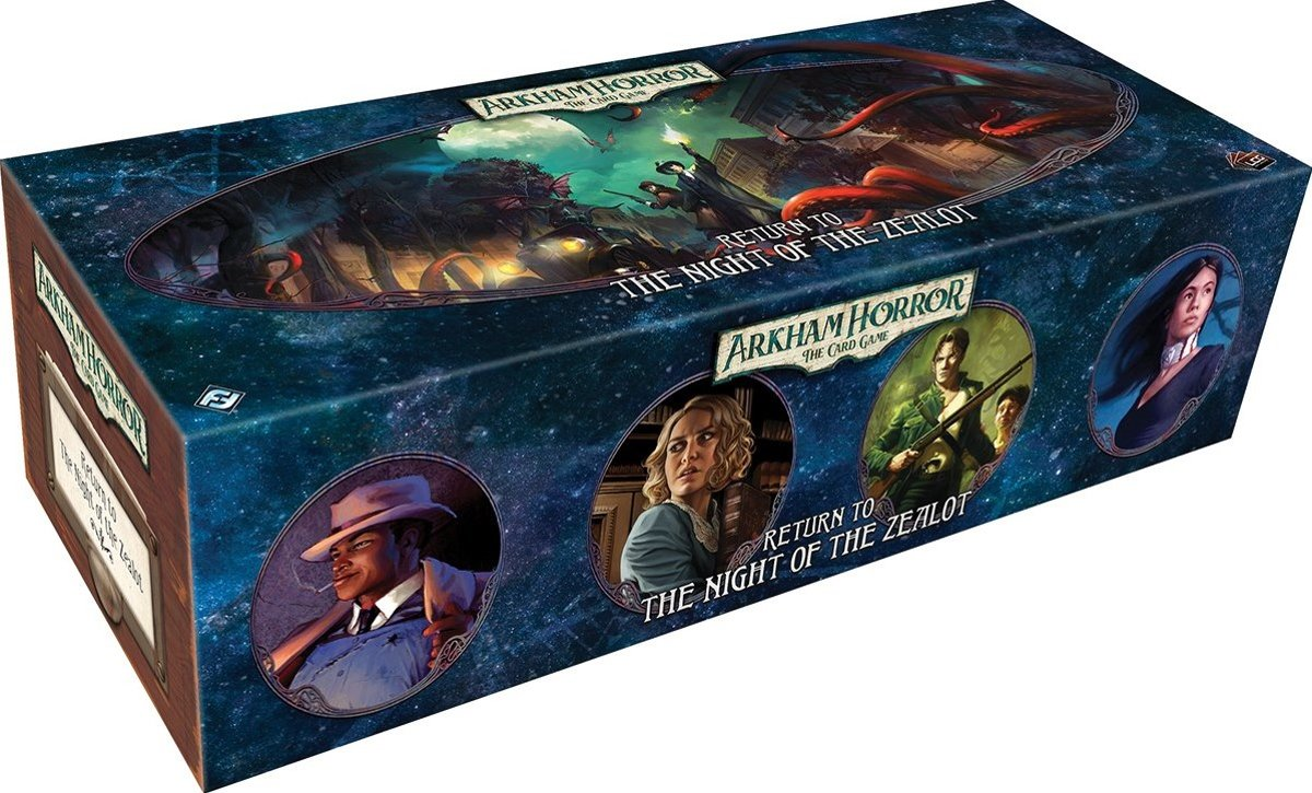 Arkham Horror The Card Game: Return to the Night of the Zealot