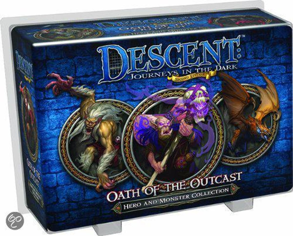 Descent Journeys in the Dark Oath of the Outcast - Hero & Monster Collection - Uitbreiding - Bordspel