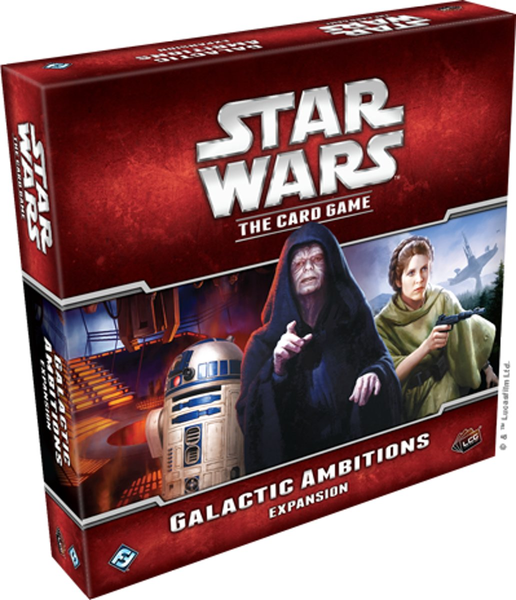 Galactic Ambitions Deluxe Expansion: Star Wars LCG