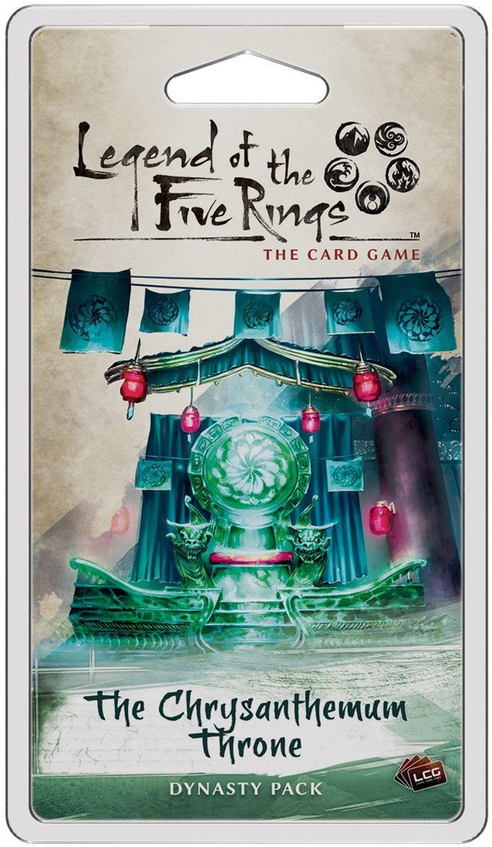 Legend of the Five Rings The Card Game - The Chrysanthemum Throne
