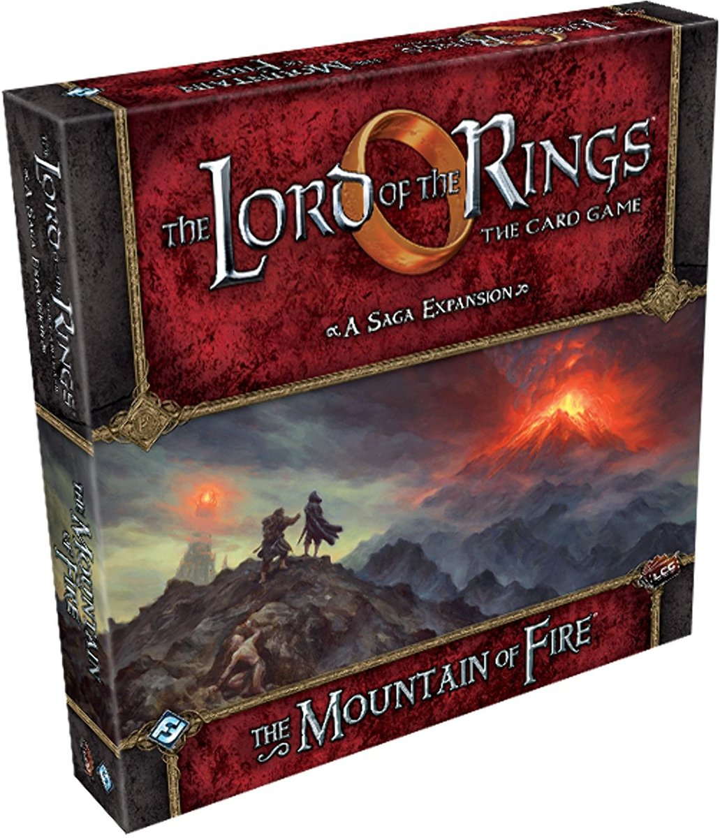 Lord of the Rings The Card Game: The Mountain of Fire Saga Expansion
