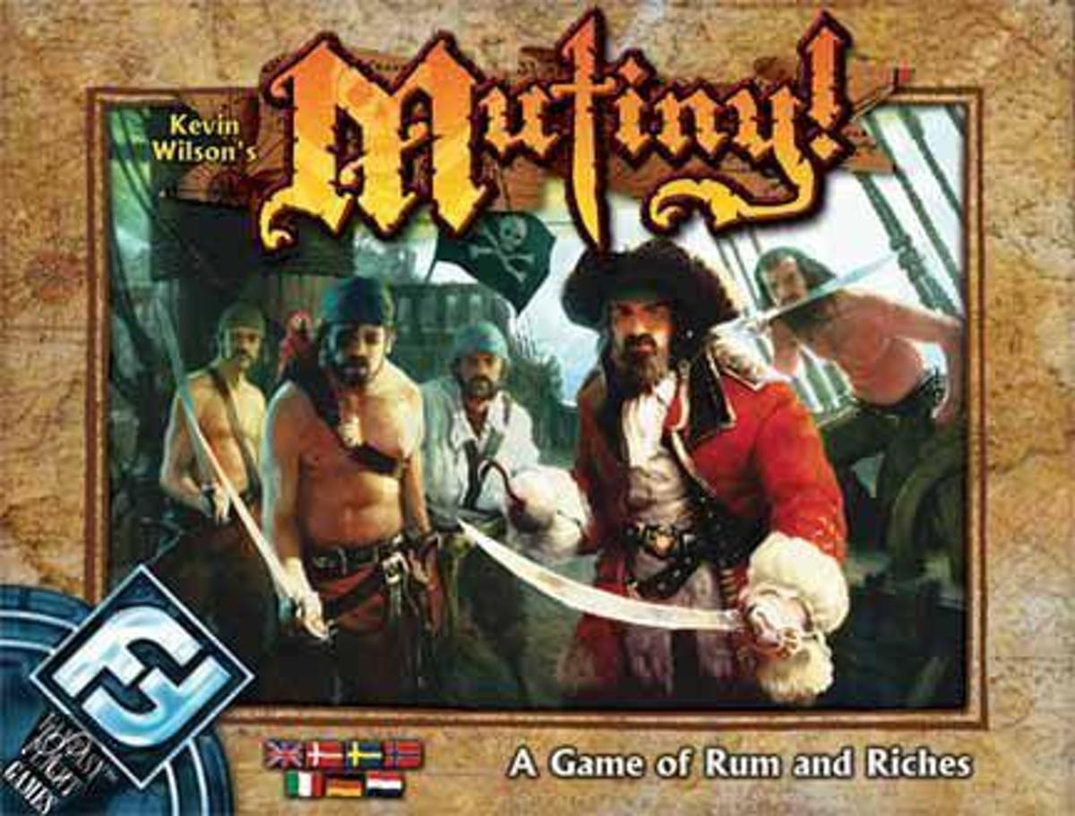 Mutiny Board Game