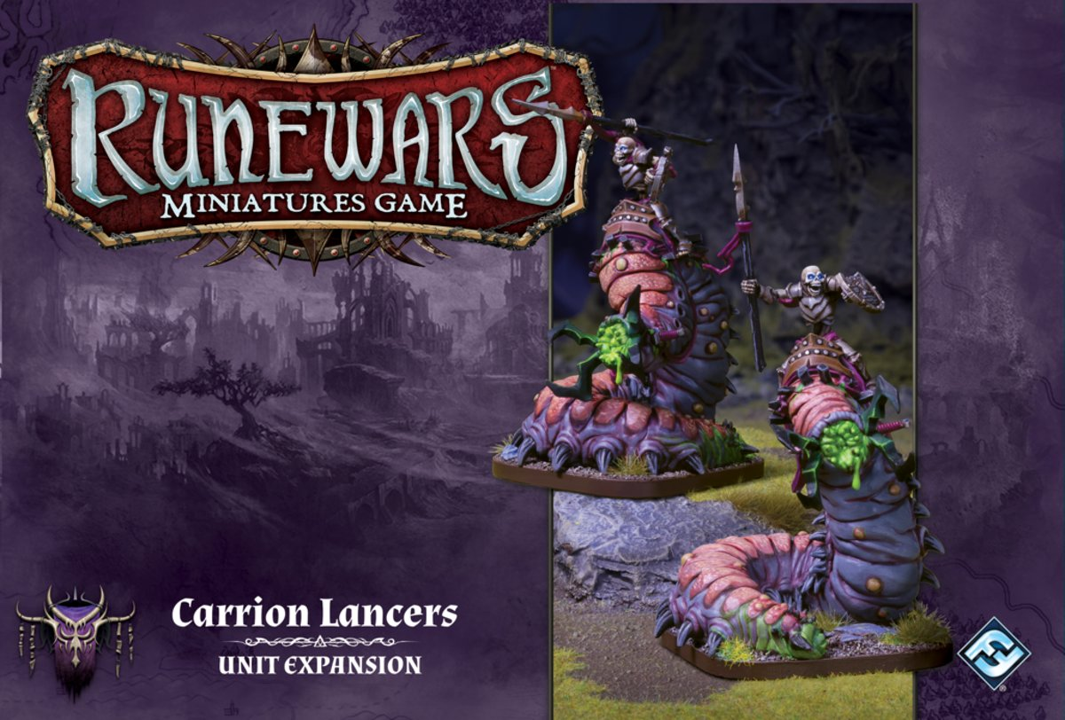 RuneWars: The Miniatures Game - Carrion Lancers Unit Uitbreiding