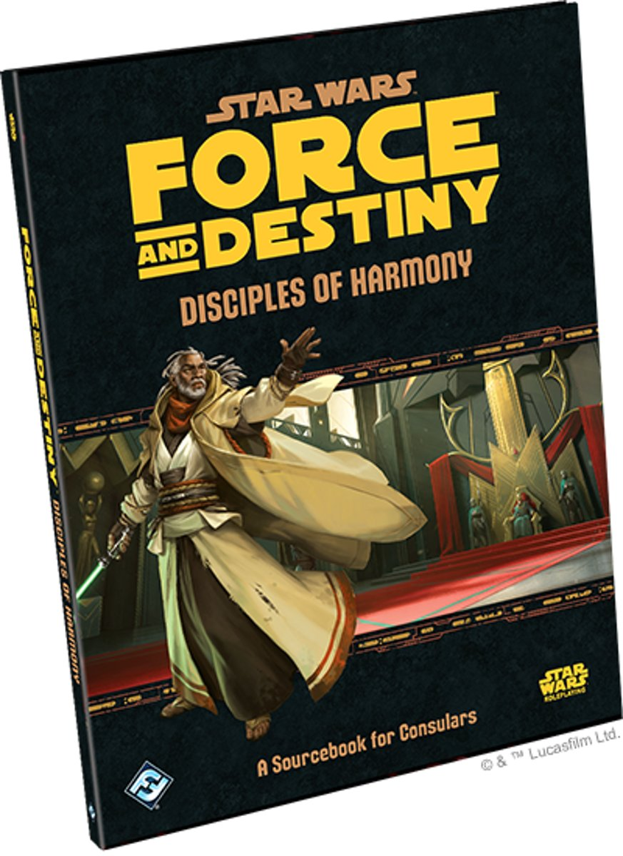 Star Wars Force and Destiny Disciples of Harmon
