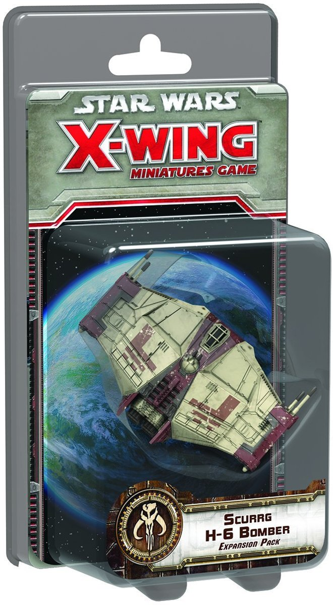Star Wars X-Wing Scurrg H-6 Bomber