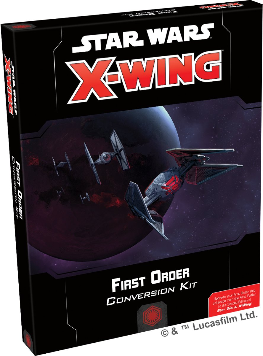 Star Wars X-wing 2.0 First Order Conversion Kit