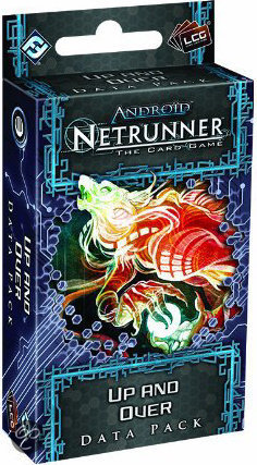 Android Netrunner LCG Up and Over Data Pack - Uitbreiding - Kaartspel