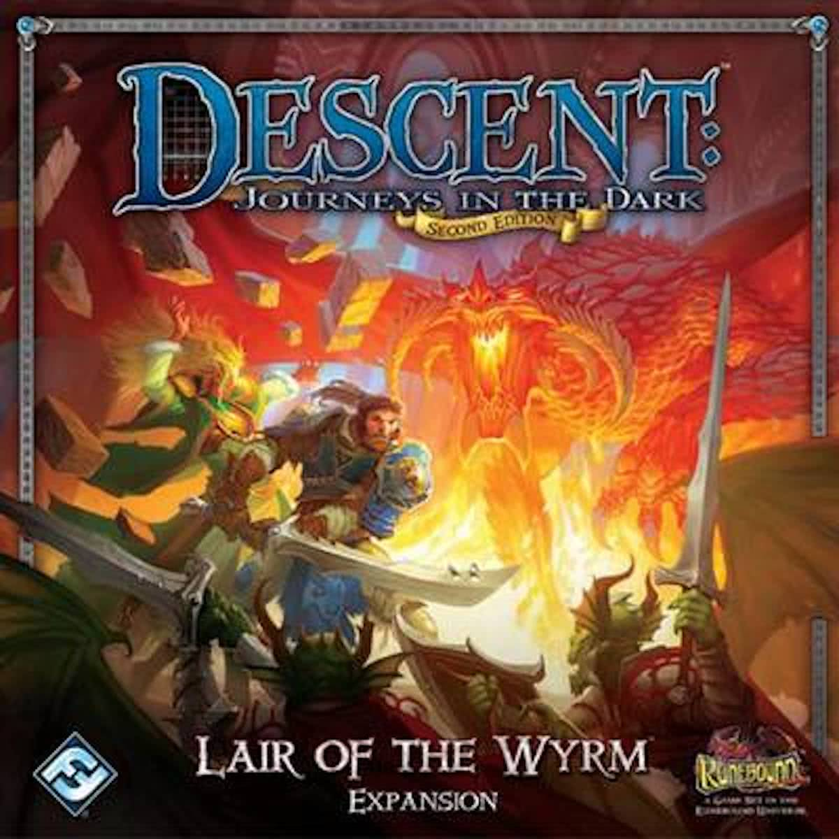 Descent Second Edition - Lair of the Wyrm Expansion