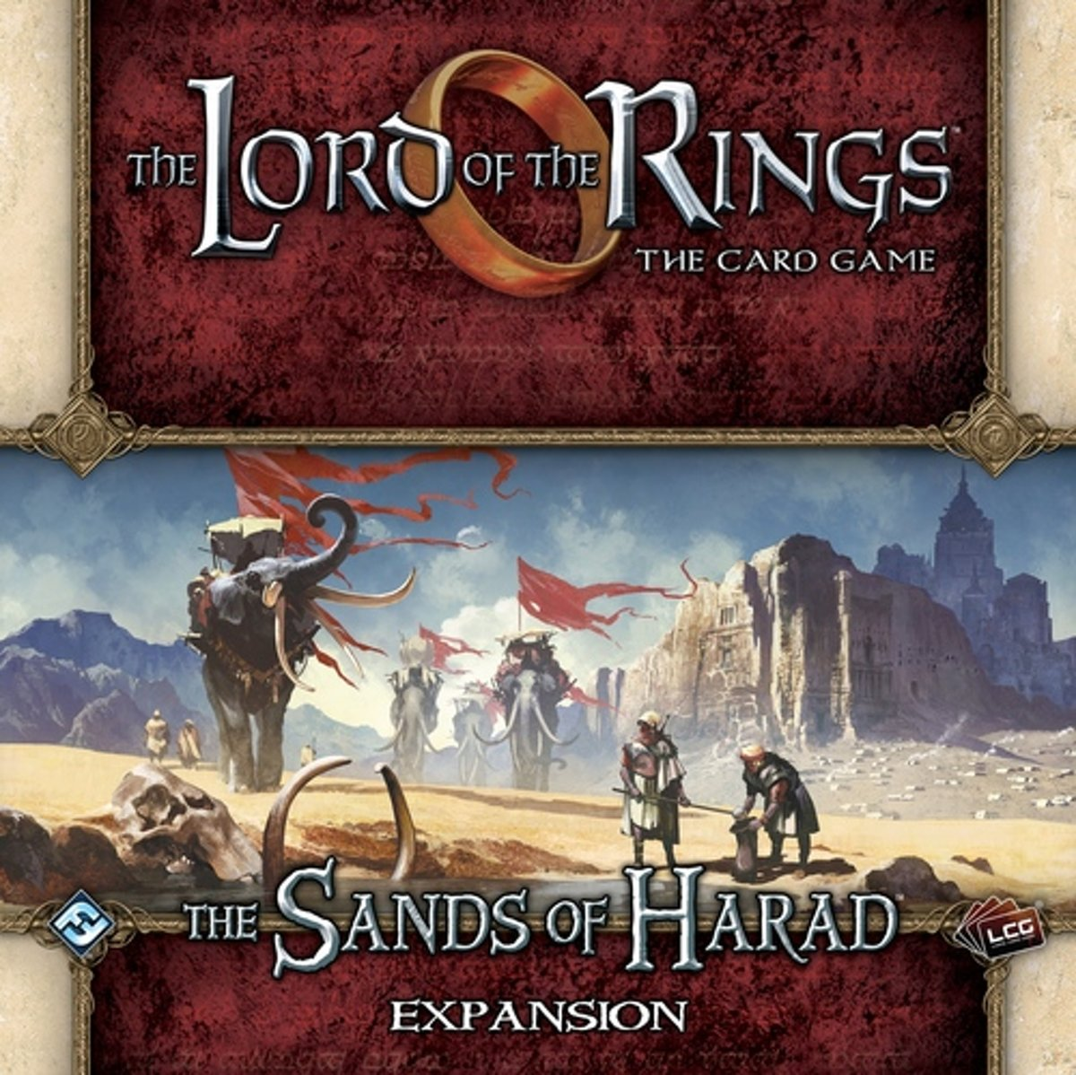 The Lord of the Rings the Card Game: The Sands of Harad