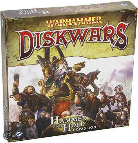 Warhammer Diskwars Hammer and Hold Uitbreiding - Bordspel