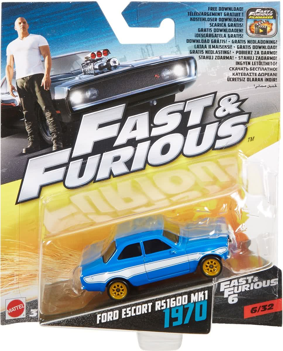 Fast and Furious Die-Cast Ford Escort RS1600