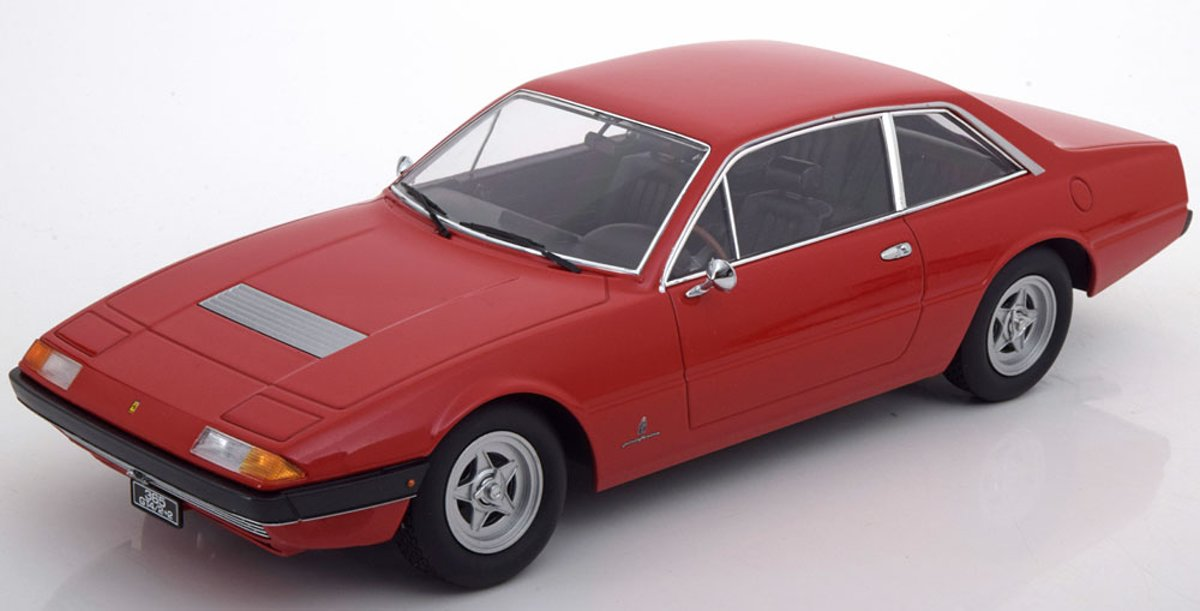 Ferrari 365 GT4 2+2 1972 Rood 1-18 KK Scale Limited 1000 Pieces