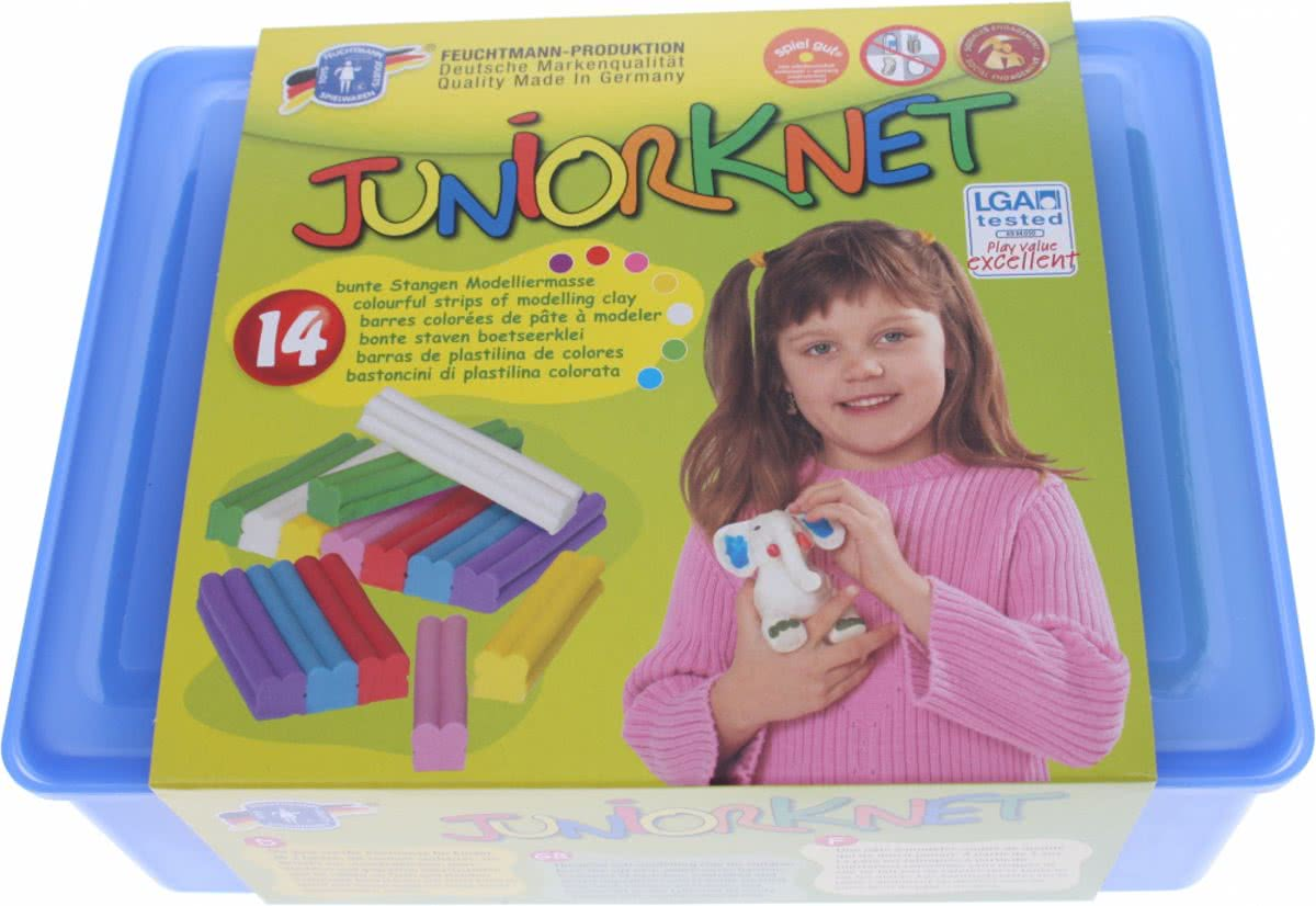 Juniorknet Klei Set One for Two - Box Maxi 700 gram