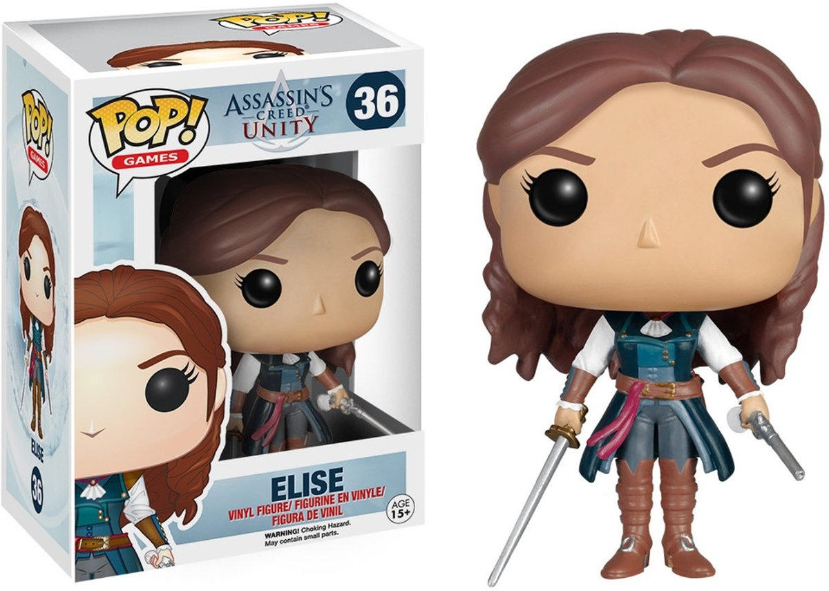 FUNKO Pop! Games: Assassins Creed - Elise Verzamelfiguur