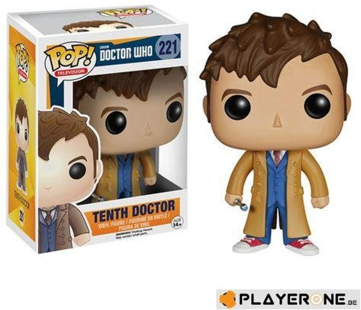 Funko Pop TV Doctor Who Tenth Doctor