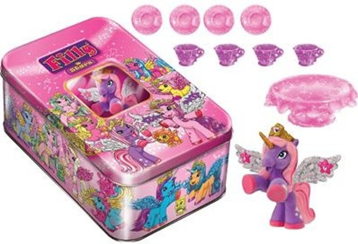 Filly Stars Filly in Metallbox Unicorn