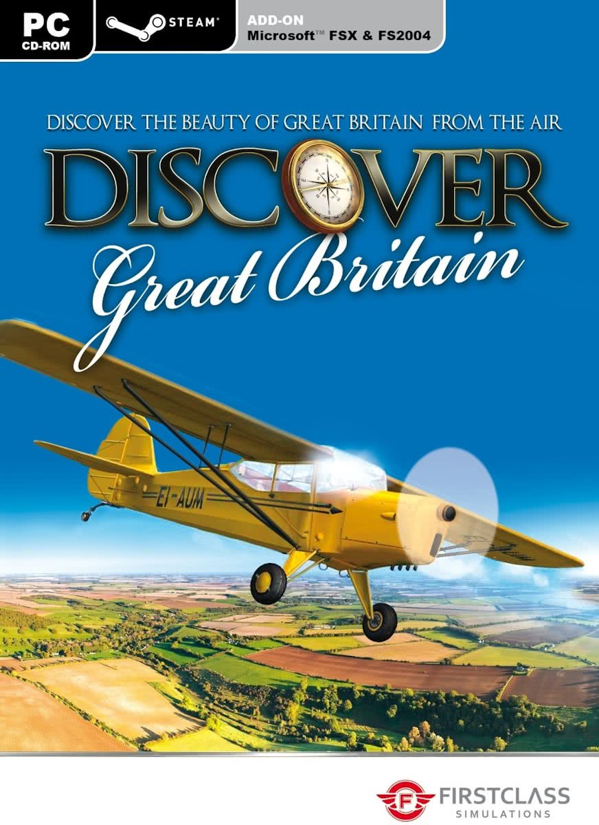 Discover Great Britain (Steam Edition) (FS X + 2004 Add-On) - Windows
