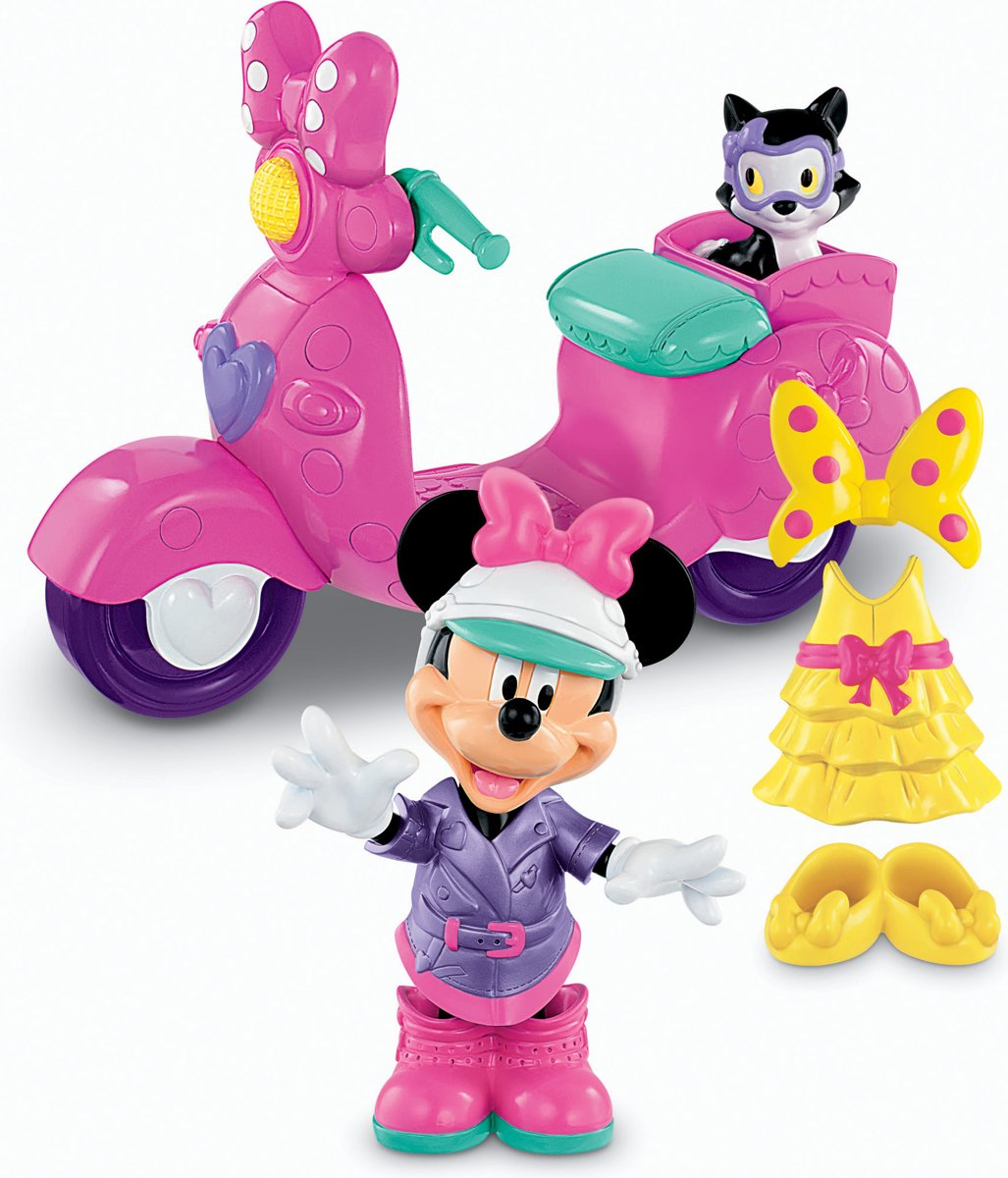 Fisher-Price Minnie Mouse Bow-Tique Modescooter