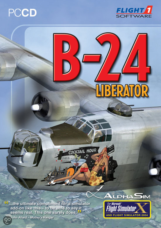 B24 Liberator (fs X + Fs 2004 Add-On) - Windows