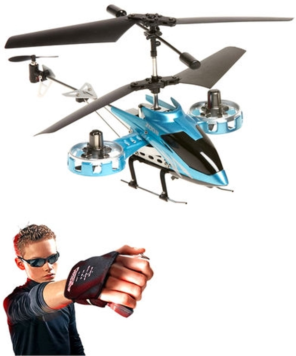 Force flyers- 4 channel-Raptor Helicopter- Motion controlled