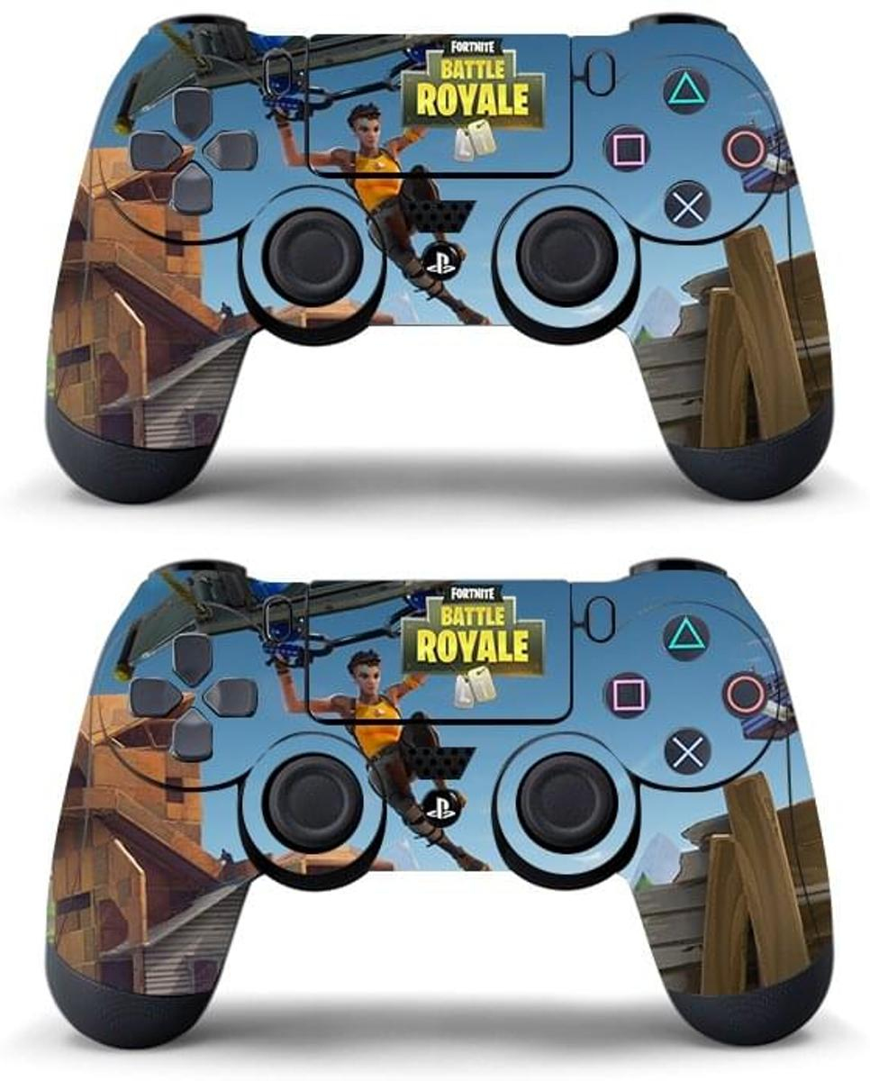 Playstation 4 Controller Skins - Fortnite Battle Royale Parachute Edition - 2 Paar PS4 Sticker Skins