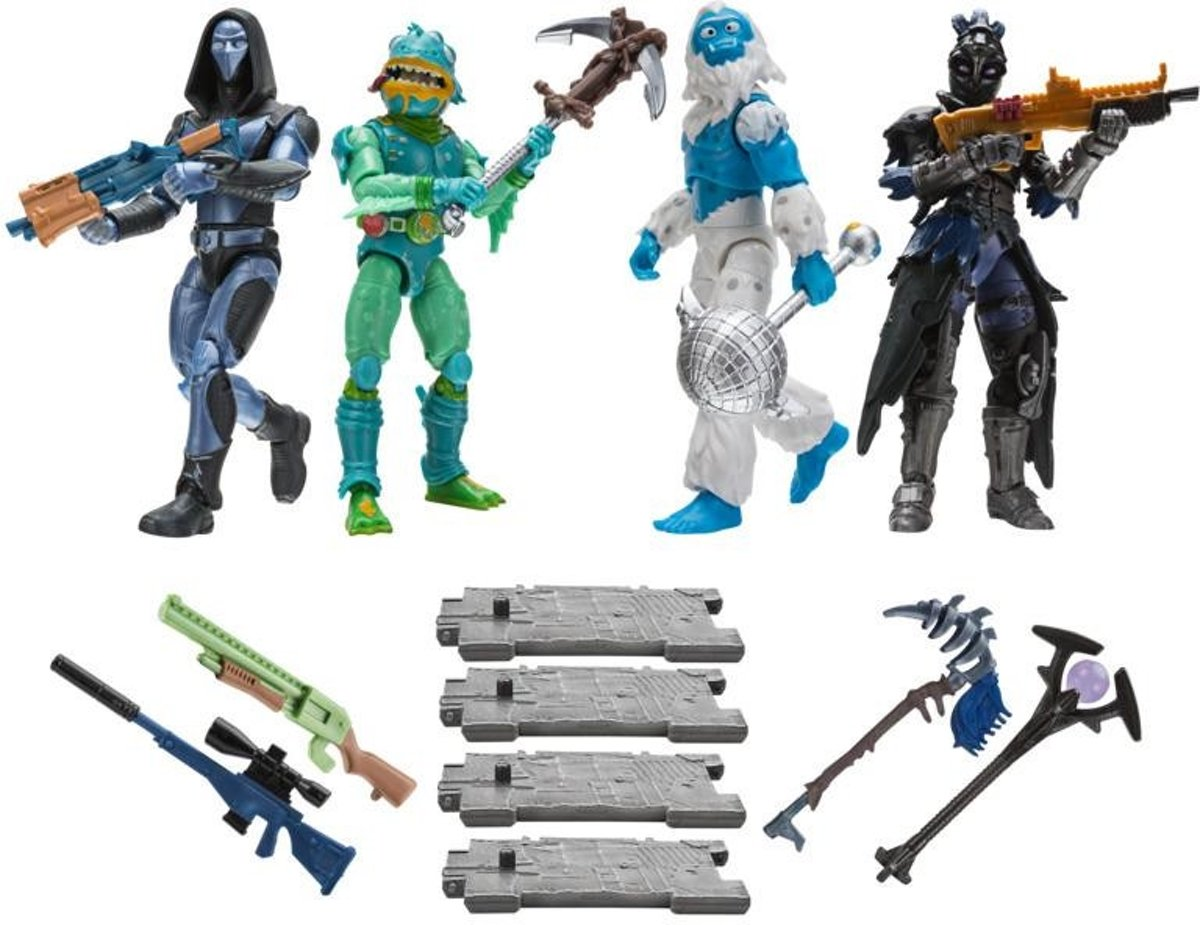 Fortnite 4 Figuur Pack Squad Mode S2 - Actiefiguur