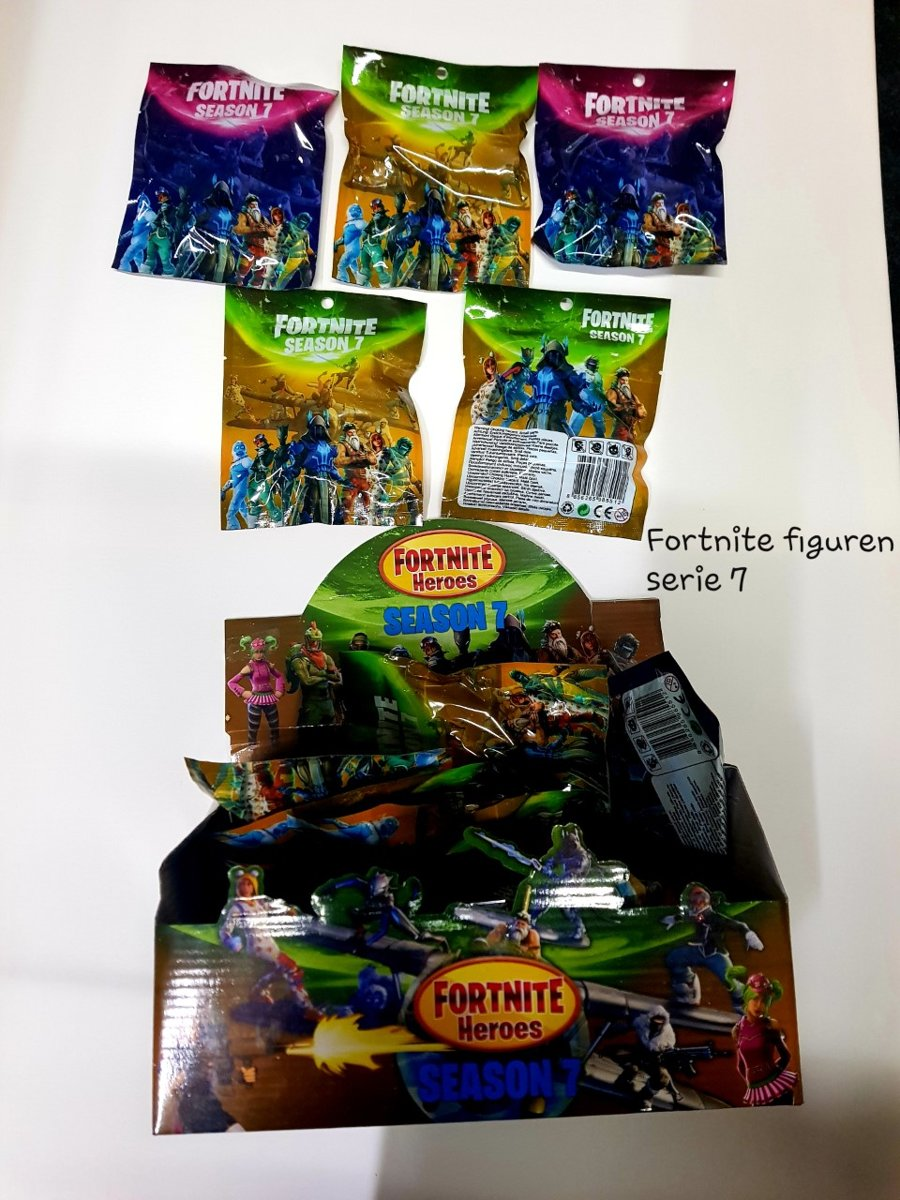 Fortnite FIGUREN SEASON 7 IN DISPLAY  / 24 STUKS /  figuren in verrassingszakje / BLIND BAG  (GRATIS VERZENDIN