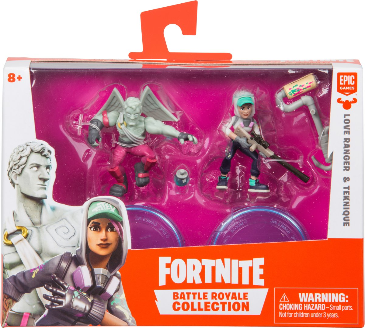 Fortnite Teknique en Love Range - Speelfiguren