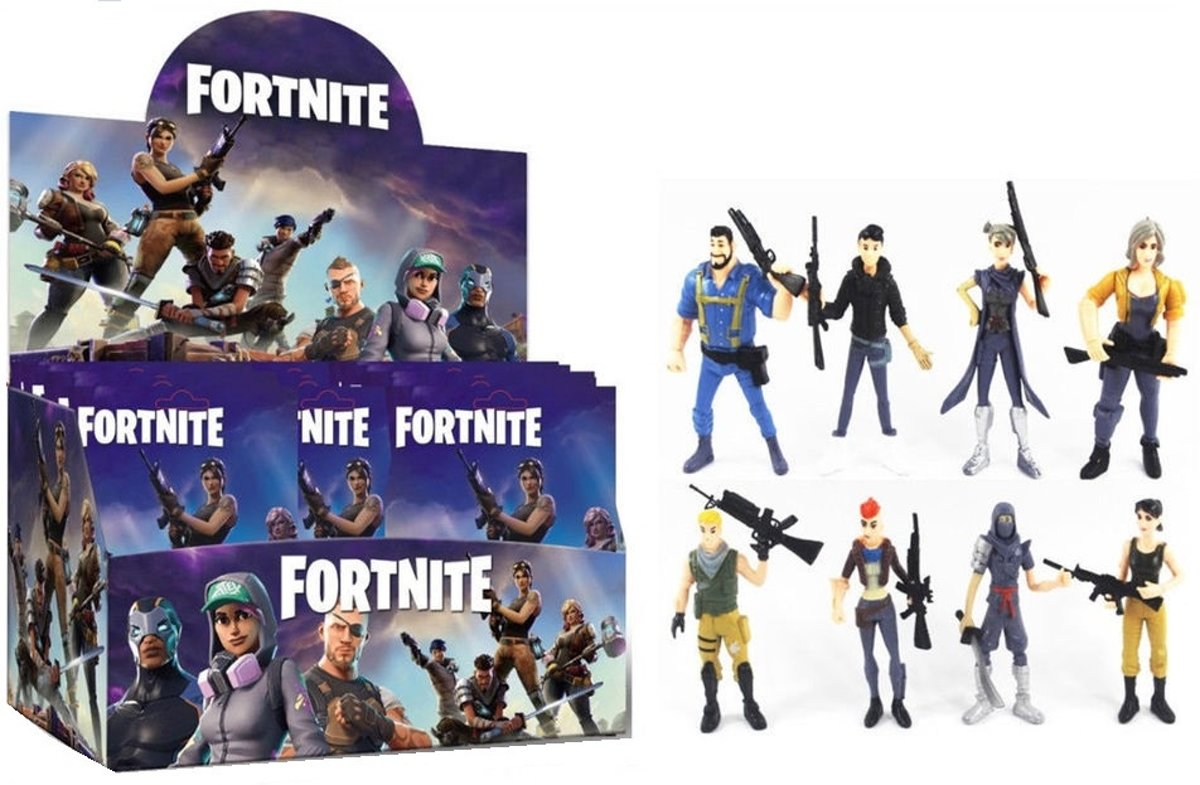 Fortnite figuurtje blind bag - 3 zakjes
