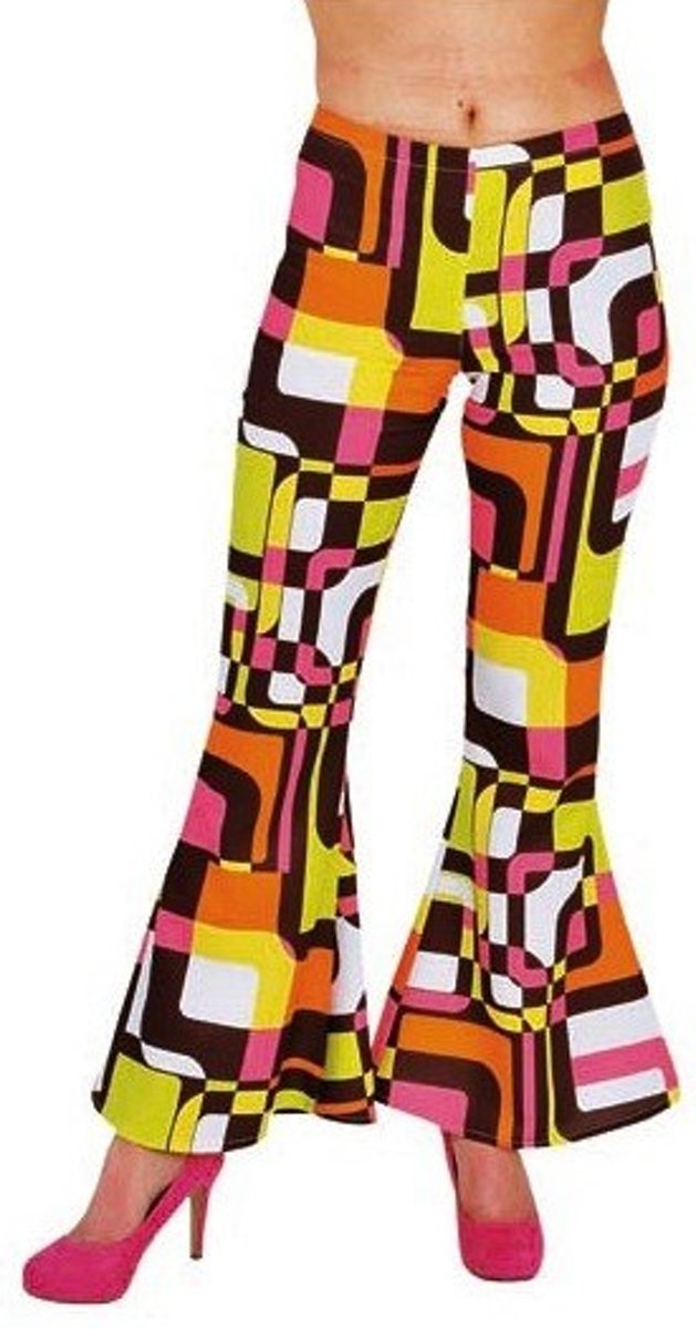 Hippie Broek Retro - Mt S