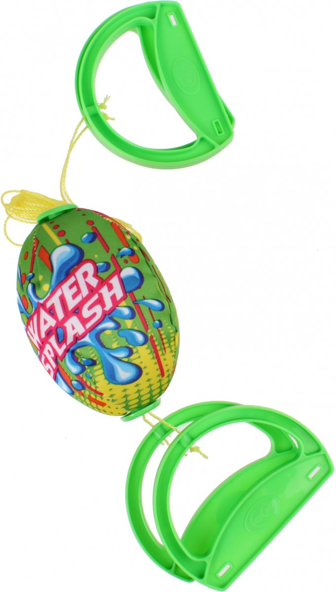 Free And Easy Speedbal Water Fun Groen 14 Cm